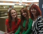 Look at those fabulous redheads!
